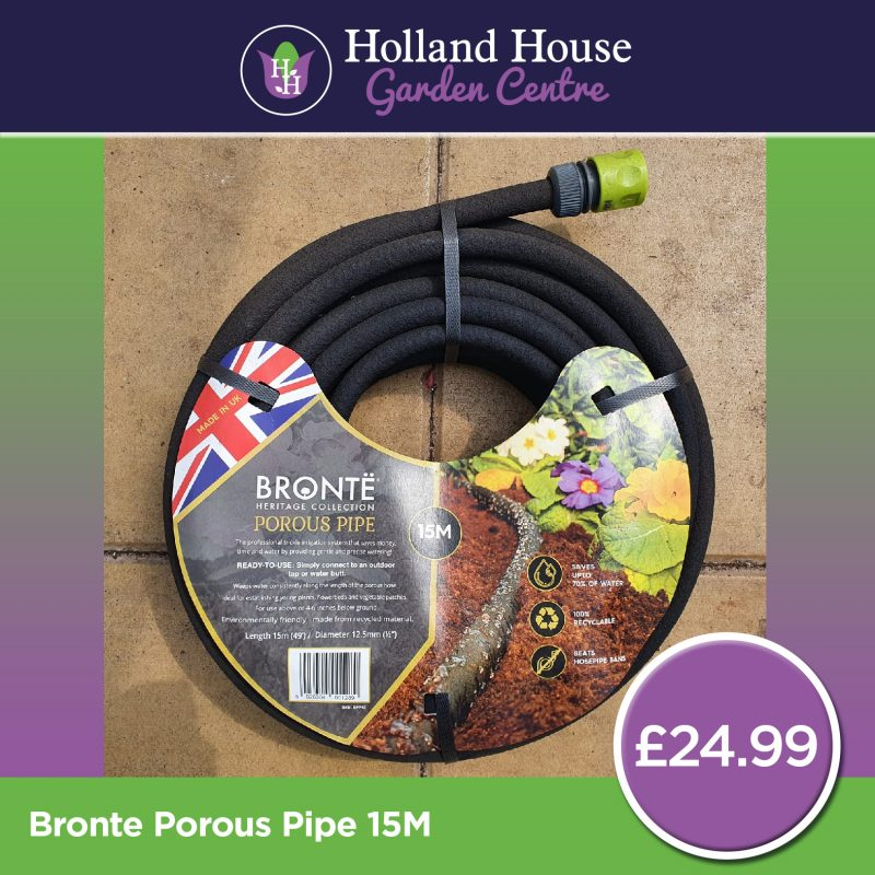 Bronte Porous Pipe 15m
